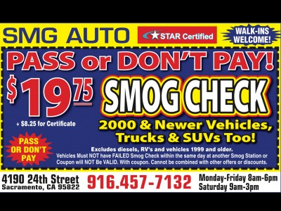 19 75 Smog Check PASS or DON T PAY