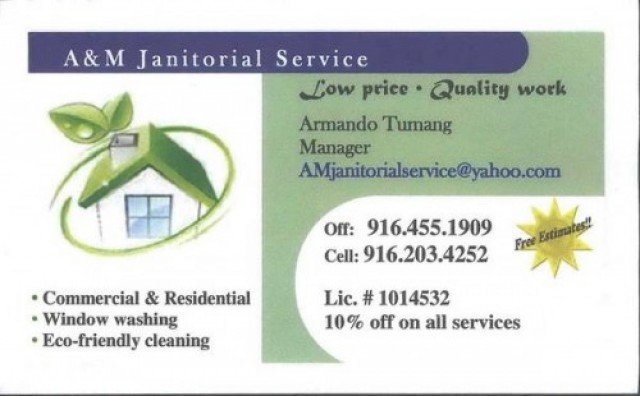 AM Janitorial Service Best Service For Less