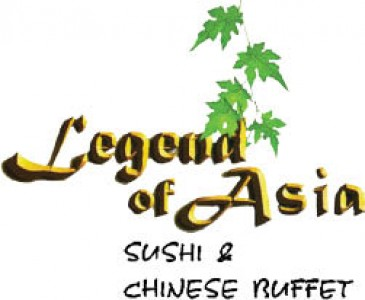 Legend Of Asia - 3 Off 2 Adult Chinese Buffets