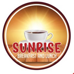 FREE coffee or juice with any breakfast entree
