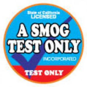A Smog Test Only - PASS OR ONE FREE RE-TEST