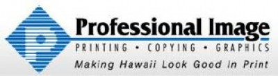 Professional Image - 5 Cents per Impression for Black 38 White Copies at Professional Image