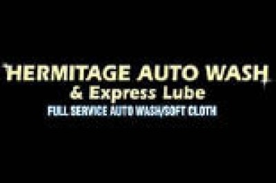 Hermitage Auto Wash 38 Express Lube - 4 Off Super or Plus Deluxe 38 Works Washes