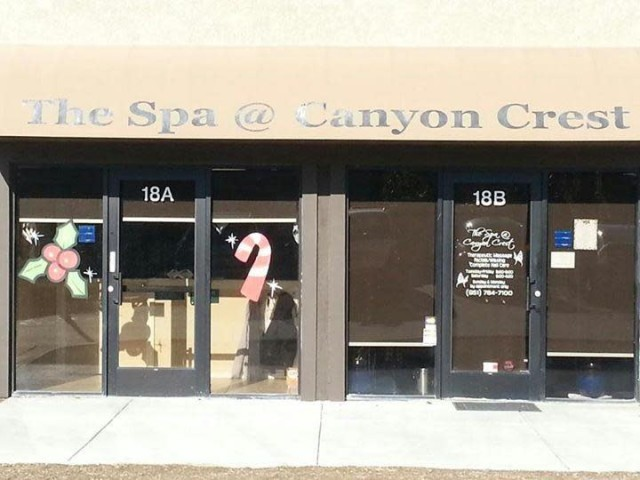 The Spa At Canyon Crest