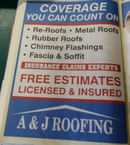 ... A J Roofing ...