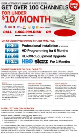 Dish Network Columbia