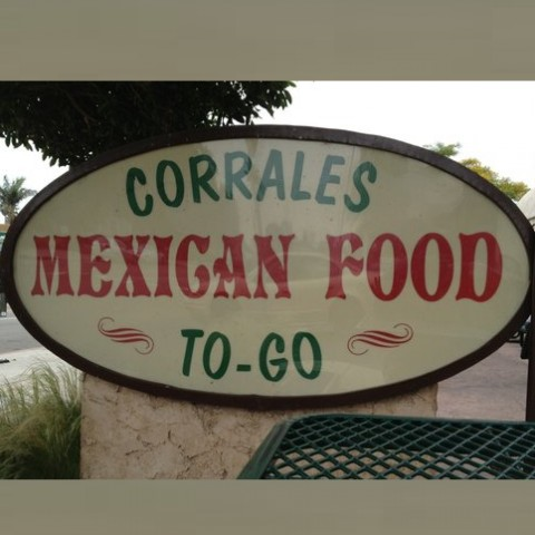 Corrales Mexican Food  E Thompson Blvd Ventura Ca