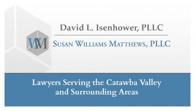 David L Isenhower PLLC and Susan Williams Matthews PLLC
