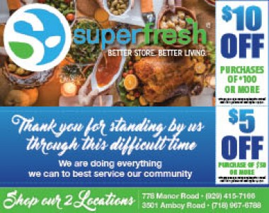 Superfresh - Staten Island - 5 OFF Purchases of 50 or More