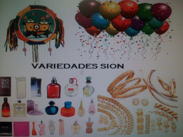 Party Supply Variedades Sion