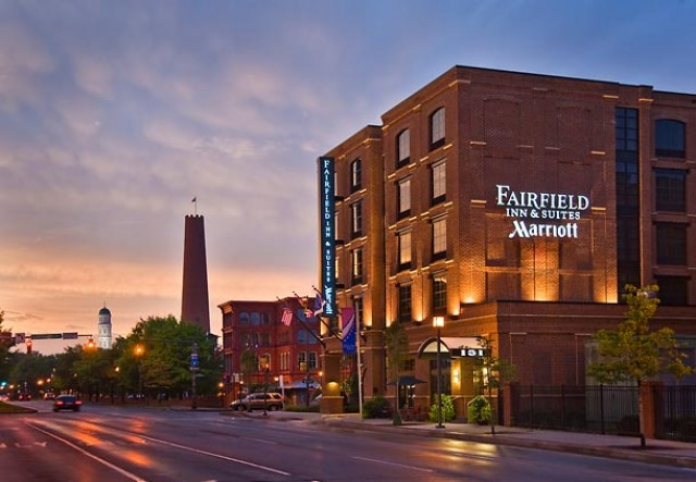 Fairfield Inn Suites By Marriott Baltimore Downtowninner Harbor
