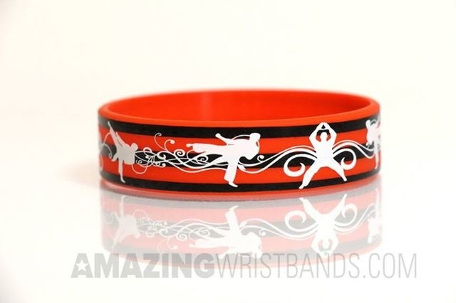 Artwork Printed Wristbands