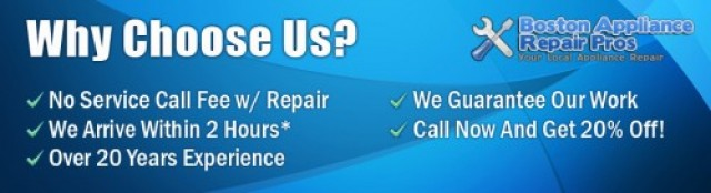 Boston Appliance Repair Pros