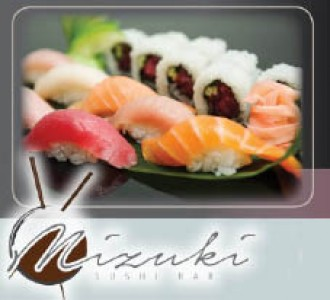 Mizuki Sushi - 15 OFF Entire Purchase Valid Sunday-Thurs only Must print coupon