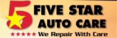 Five Star Auto Care-Auburn - FREE WARNING LIGHT SCAN