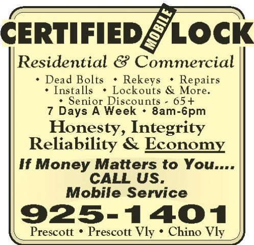 Certified Mobile Lock