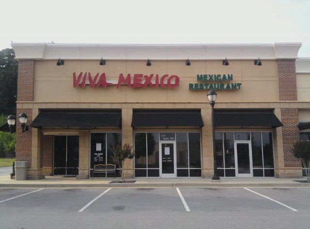 Viva Mexico Mexican Restaurant 130 Prominence Point Pkwy 180