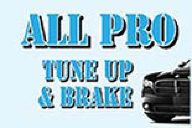 All Pro Tune Up And Brake