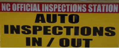 Auto Inspections InOut - NC State Inspection - 5 Off State Emissions Inspection