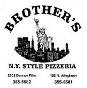 Brother39 s Ny Style Pizza - 11 99 1-1634 Large 1-Topping Pizza at Brother39 s NY Style Pizzeria