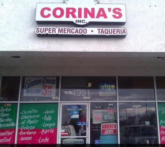 Corina S Supermercado Amp Taqueria 4991 E Kings Canyon Rd