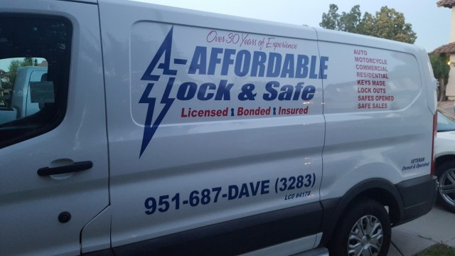A Affordable Lock and Safe