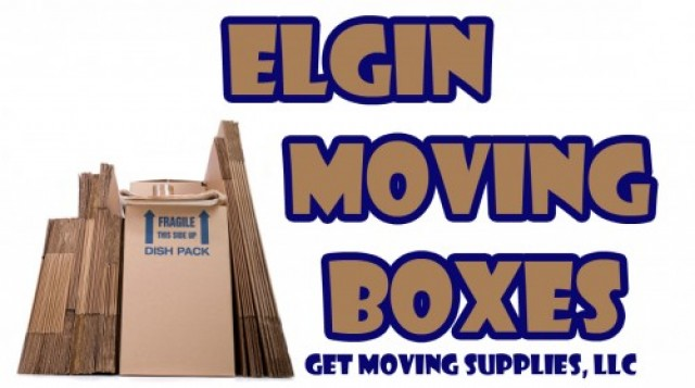 Elgin Moving Boxes