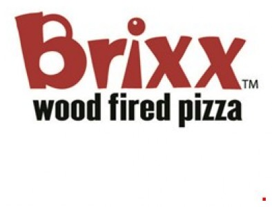 Buy 1 pizza get 1 on the house View the menu and order online at brixxpizza com