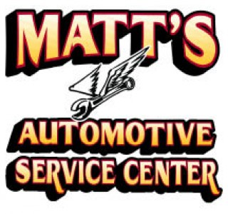 MATTS AUTOMOTIVE SERVICE CENTER - Bring In 1 Full Paper Grocery Bag Of Non-Perishable Food 38 Receive A FREE Oil Change Including a Tire Rotation